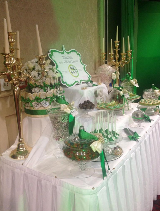 Sugar & Spice Candy Buffet