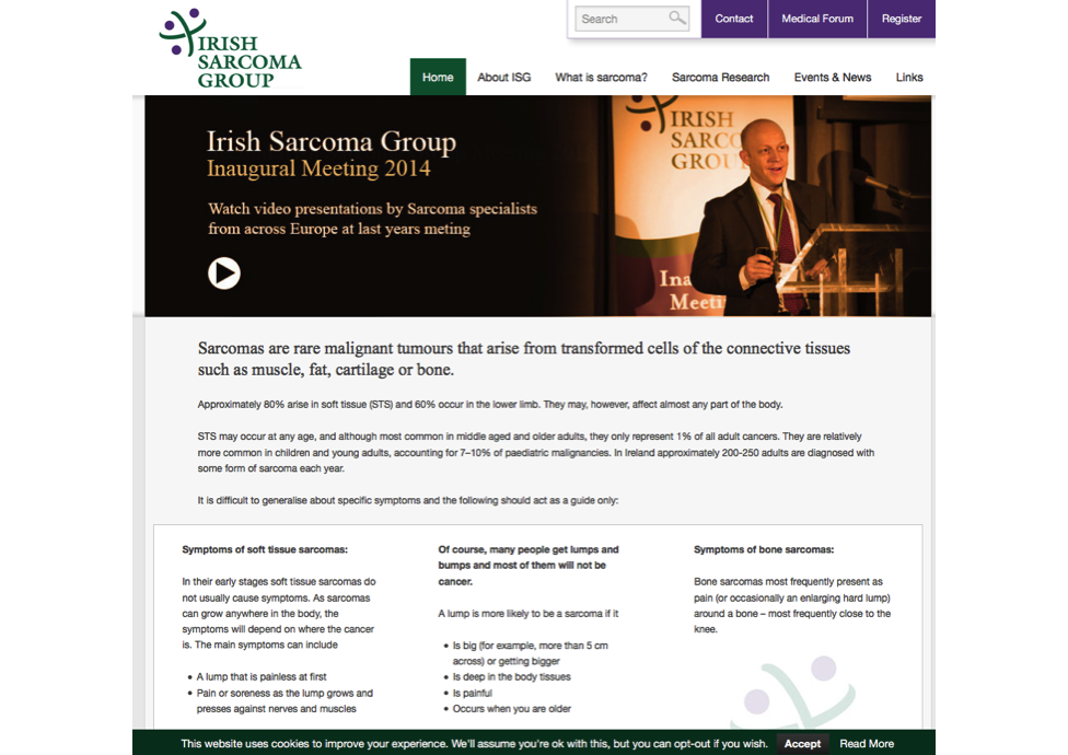Sarcoma Group-website-marketing-charities